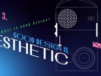 3. Good design is aesthetic – illustration for DMN