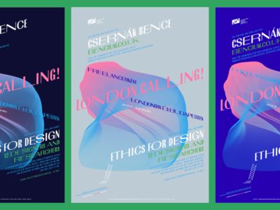 DMN: Csernák Bence and Ethics for design poster bem cinema budapest london goeast! talk freelance designersmovienights nights event design inspirational dmn