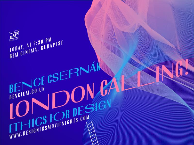 DMN 5 London Calling! Last call :-) goeast! web budapest dmn nights event inspirational design