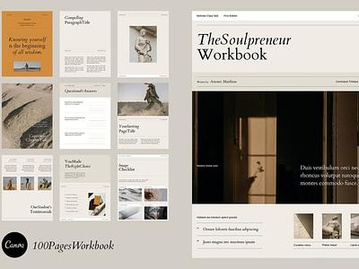 Canva Course Workbook | Artemis app web icon typography ux ui template builder templatedesign branding vector templates template