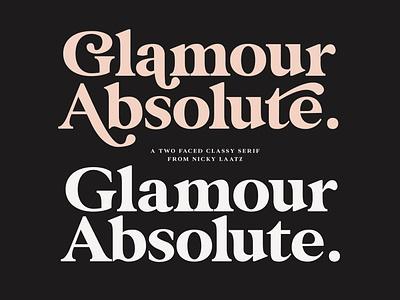 Glamour Absolute Modern/Vintage Font script design typography amazing font elegant font script font beautiful font cursive font calligraphy wedding font