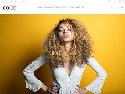 .co|co - shopify theme animation flat minimal web app icon logo ux branding ui