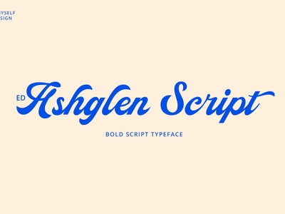 ED Ashglen Script wedding font calligraphy script font elegant font