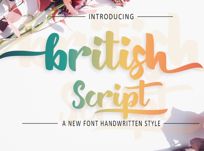 Bristis Script font
