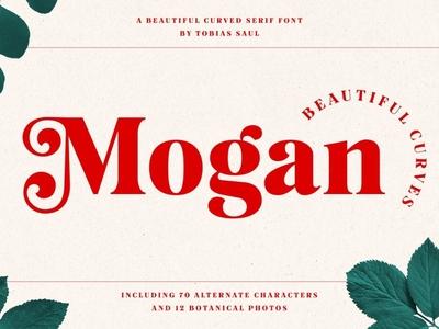 Mogan Font  Extras