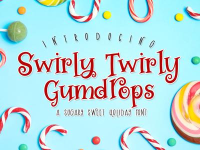 Swirly Twirly Gumdrops