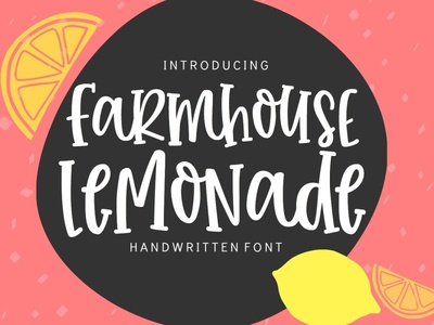 Meet Farmhouse Lemonade