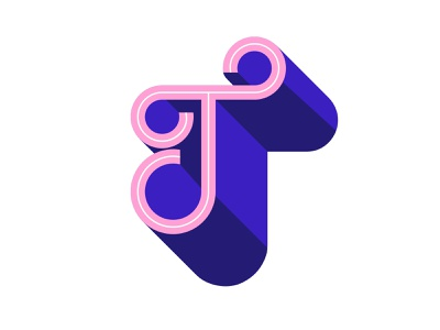 "36days of type ""T"" design vector digital art typography lettering art 36 days of type graphic design illustration"