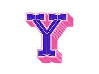 "36days of type ""Y"""