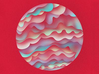 preexist illustration cover album music preexist artist design waves sleep