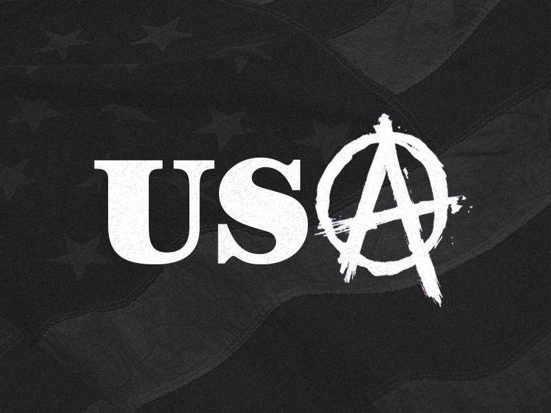 Stay Down usa america government shutdown anarchy fuck