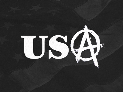 Stay Down usa america government shutdown anarchy fuck