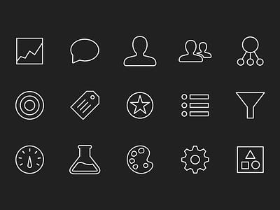 Artisan Line Icons icons artisan ui allthethings