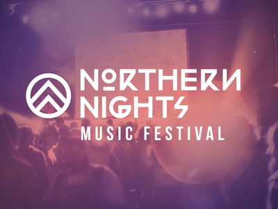 Northern NIghts logo branding northern nights festival edm dance