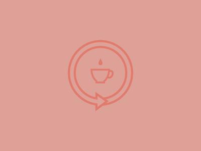 Turnaround CH logo coffee cup turnaround