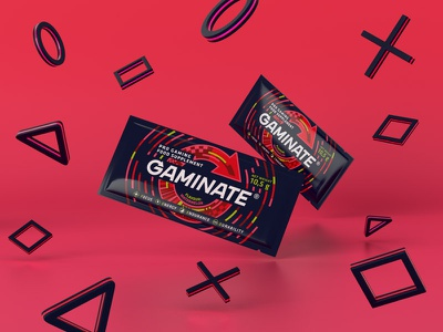 Gaminate Watermelon sachet watermelon red design packaging kv sachet esport supplement gaming