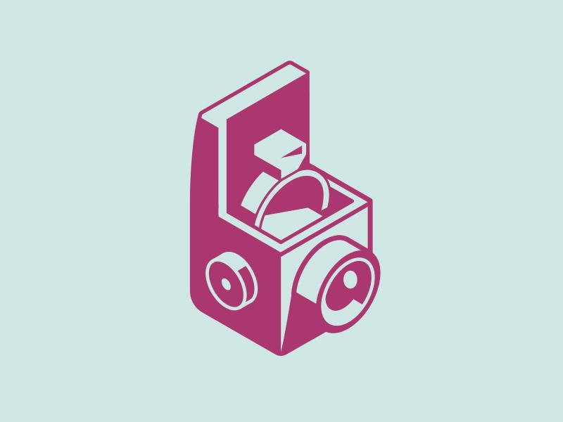 Make My Day Camera vintage box camera analog lens ring engagement wedding camera