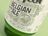 Hopfest Belgian Ale Label