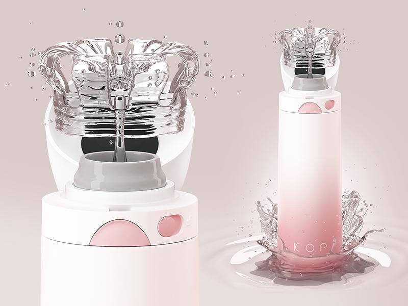 Devi Pearl Pink | Her Highness modo octane 3d cgi water herhighness liveyourkor