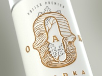 Oak Vodka branding