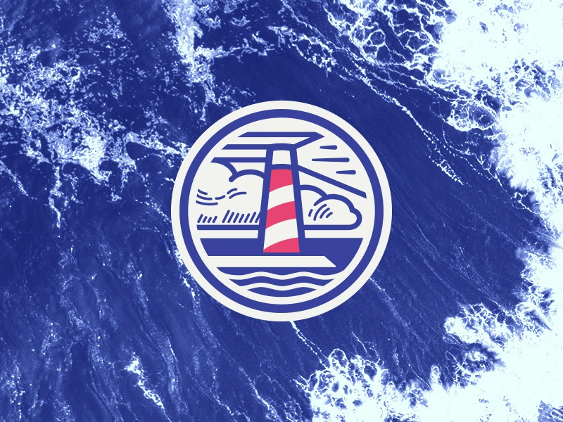 Topsail Insurance logo mark liberation rebranding sail sea corporate identity insurance marine lighthouse