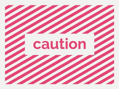 Topsail caution pattern pattern caution