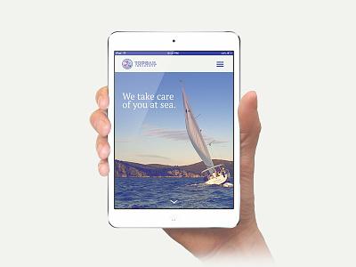Topsail mobile rebranding insurance marine site moblie