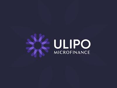 Ulipo Microfinance microcredit micro microfinance icon branding design identity brand logo