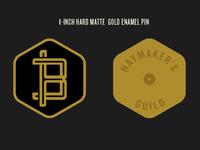 Haymaker's Guild Enamel Pin