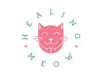 Healing Meow Logo mark
