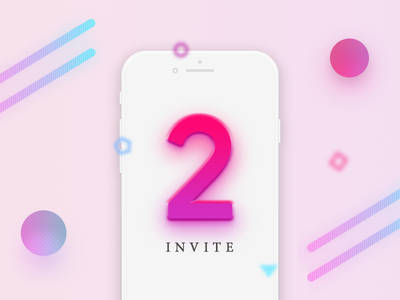 2x Dribbble Invite new player 2 dribbble invite
