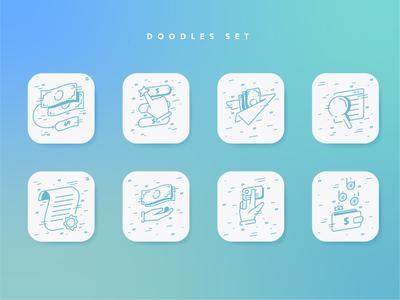 Doodle Set for Exchange