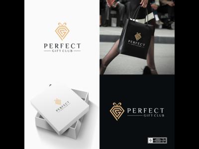 Perfect Gift Club 3 mark monogram monogram logo retail retail design logo design logos logodesign logotype branding design branding brand design