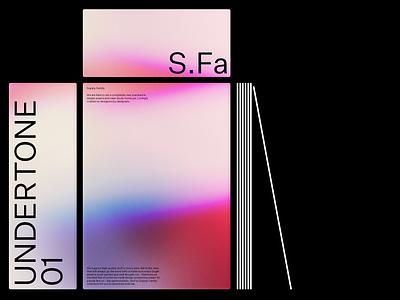 Undertone 01 Gradient Collection psd mockup download portfolio apple case study branding tech design mockup