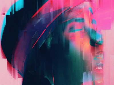 Image Mod Collection 03 – Glitch art lines distortion displace glitch effect psd photoshop