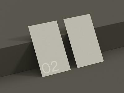 Business Card 02 Standard Mockup smart object branding photoshop template business card psd mockup