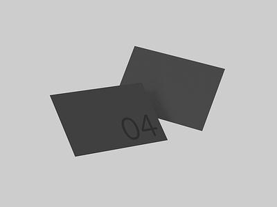 Business Card 04 Standard Mockup smart object photoshop branding print template business card psd mockup