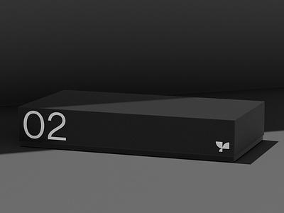 Box 02 Standard Mockup smart object template photoshop branding packaging standard box psd mockup