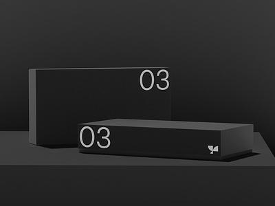 Box 03 Standard Mockup smart object template photoshop branding packaging standard box psd mockup