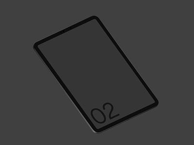 iPad Pro 02 Standard Mockup template web mobile smart object mockup photoshop psd screen device tablet apple pro ipad