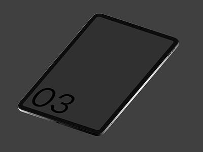 iPad Pro 03 Standard Mockup ui template web mobile smart object mockup photoshop psd screen device tablet apple pro ipad