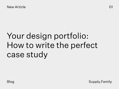 Your design portfolio: How to write the perfect case study templates mockups graphic design portfolio case study blog