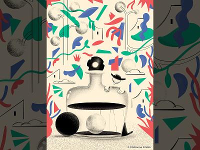 Aloysius and the potion cristianne fritsch digital art digital painting digital illustration motion graphics illustration graphic design