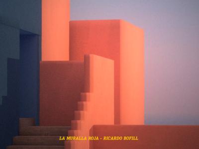 La Muralla Roja architect architecture design building orange españa hotel architectural architecture illustration c4d 3d after effects design animation motion
