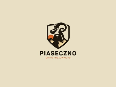 Crest logo illustration logo