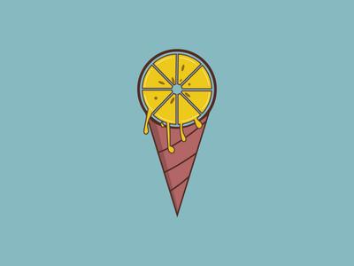 lemocream logo concept