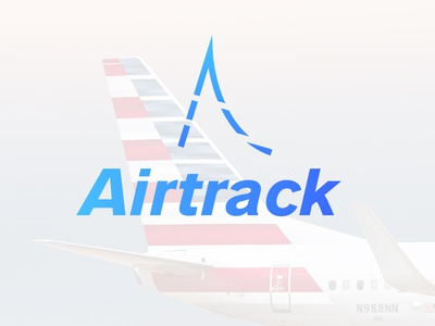 Airtrack ~ Daily logo Challenge (Day 12)