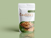 cashew Pouch Packaging Design