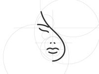 Woman Portrait Logo