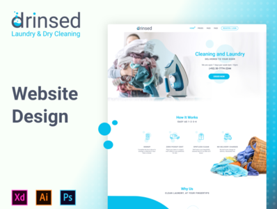 Drinsed - Website Design